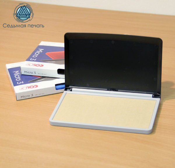 Штемпельная подушка (Colop micro 3) 90х160 мм